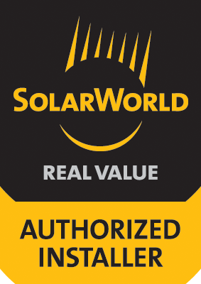 Solar World Real Value Authorized Installer